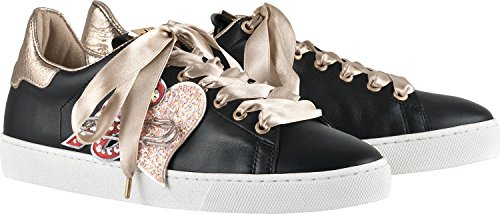 Högl 5-10 0320, Chaussures Low Femme Noir (schwarz)