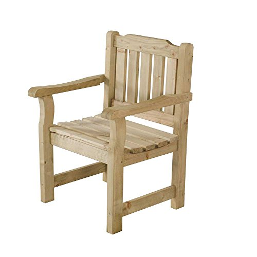 Wooden Rosedene Garden Chair Traditional Sturdy Versitile Seating
