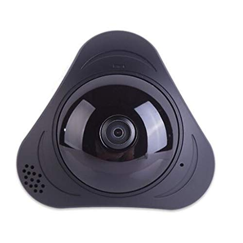 IP-Überwachungskamera 360 Grad Fisheye-Objektiv Panoramakamera Echtzeitüberwachung und Intercom-Bewegungserkennung Home Security Systerm Intercom-desktop