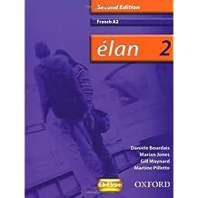 Élan: 2: A2 Students' Book (Elan)