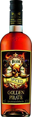 Golden Pirate Spiced Rum 30{918db8028a9f236e0132f26b2508094afdc8137122b0bfda81e90f8478e9e028} (1 x 0.7 l)