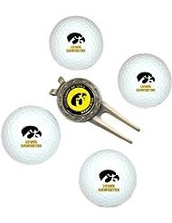 NCAA Iowa 4-Pack Team Golf Ball Gift Set by Team Golf
