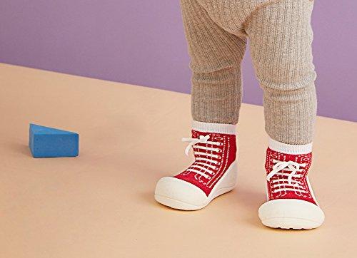 Attipas, Scarpe primi passi bambine porpora 20 EU rosso