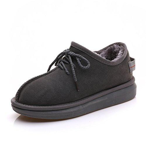 Des bottes d'hiver bottes bottes de neige faible et chaud velours chaussures chaussures de velours épais