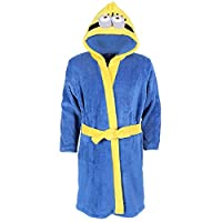 Boys Despicable Me Minion, Soft & Cosy Fleece, Hooded Dressing Gown, Robe - 9-10 Years 140 cm