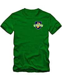 Shirt Happenz Irland WM 2018#5 T-Shirt | Éire | Fußball | Herren | The Boys in Green | Trikot | Nationalmannschaft