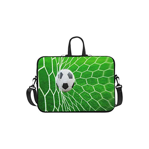 """Price comparison product image National Sport Football Lover Bag Cool Goal! Laptop Notebook Messenger Shoulder Bag Carrying Case Cover Pouch With Handle Computer Bag For Apple Macbook Pro Air HP Dell Computer Cover Sleeve For 13"""" 13.3"""" Laptop"""