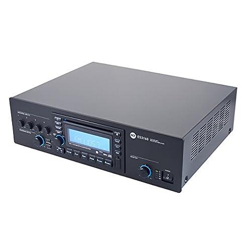 RCF CD Tuner Mixer Amplifier 160W 100V ES3160