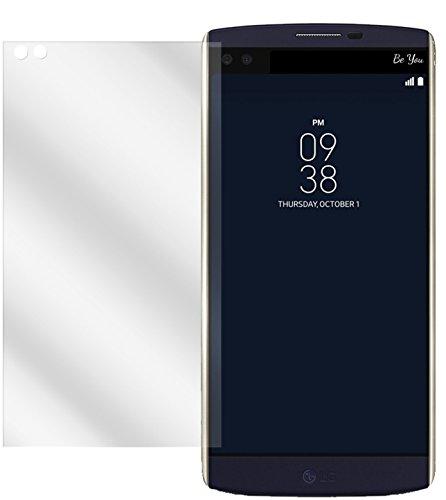 dipos I 2X Schutzfolie klar passend für LG V10 Folie Bildschirmschutzfolie