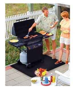 BBQ Patio Protector Mat (82 x 109cm) by Faringdon