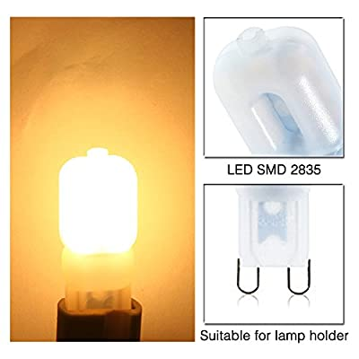5X G9 5W LED Lampe 104 SMD 3014 Gl¨¹hbirne Leuchtmittel,Kaltwei?/Warmwei?,AC220-240V,G9 SMD 3014 LED Licht Leuchtmittel