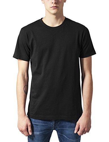 Urban Classics Herren T-Shirt Basic Tee, 10er Pack Schwarz (Black 00007)