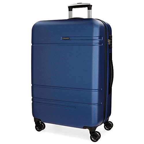 Movom Galaxy Blue Medium Rigid Trolley 68 cm