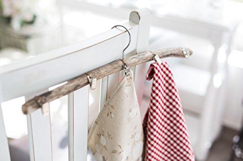 Rustikaler Handtuchhalter aus Holz (Co Handtuchhalter)