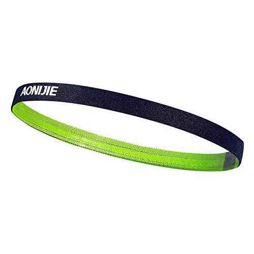 SHENGNONG Athletic Sports Stirnbänder No Slip Moisture Wicking Ideal für Yoga Volleyball und Work Outs