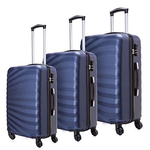 Juego de maletas livianas con cáscara dura de 3 piezas (20 '24' 28 ')...