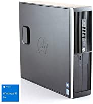 Hp Elite 8300 - Ordenador de sobremesa (Intel Core i5-3470, 8GB de RAM, Disco HDD de 500GB, Lector DVD, Windows 10 PRO ES 64)
