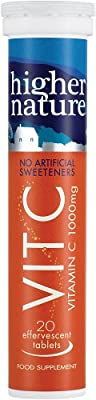 Higher Nature Fizzy C Pack of 20 by Higher Nature