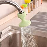 Baost - Aireador de Boquilla de Agua para Cocina, Filtro de Ducha, Grifo, válvula de Agua, regulador de Salpicaduras, pulverizador de Grifo, Filtro de Agua Ajustable, alcachofa de Ducha Extensible