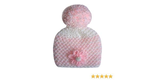 Baby Hat and 2 Pairs Scratch Mittens 100/% Cotton Newborn Boy Girl Mitts Reborn