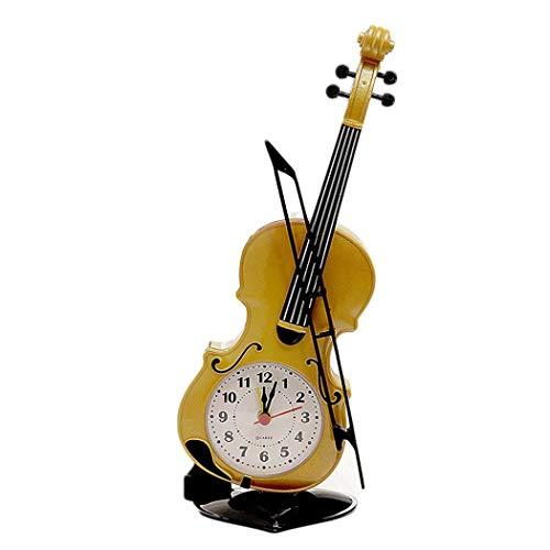 Orologio da Tavolo a Forma di Violino con sveglia