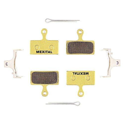 MEXITAL 2 Coppie Pastiglie Freno a Disco Sinterizzato per Shimano Deore M610 M615 M6000 SLX M666 M675 M7000 XT M785 M8000 Saint BR-M820 XTR M960 M985 M987 M988 M9000 Alfine BT-S700 RS785 RS685