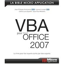 VBA pour Office 2007
