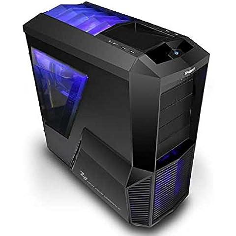 VIBOX Target 36 - 4,1GHz AMD FX 6-Core CPU, R5 230GPU, Presupuesto, Ordenador de sobremesa para oficina Gaming con unidad central, Windows10 (3,5GHz (4,1GHz Turbo) SuperrápidoAMDFX63006-Core ProcesadorCPU, AMDRadeonR5230dedicadotarjeta gráfica de 1 GBGPU, 16 GB Memoria RAM de DDR3, velocidad de RAM: 1600MHz, 3TB(3000GB)SataIII7200 rpmdiscoduroHDD, Fuente de alimentaciàn de 85 +PSU 400W, Z11Pluscajapara el juego)