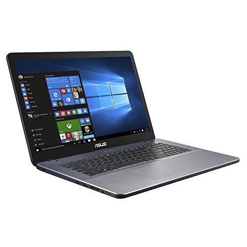 ASUS VivoBook A705QA (90NB0MN2-M01140) 43,9cm (17,3 Zoll, FHD, WV, matt) Notebook (AMD A12-9720P, 8GB RAM, 512GBSSD, AMD Radeon R7 graphics, Windows 10) Star Grey