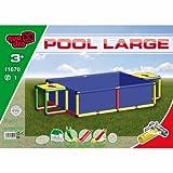 Quadro Pool L Schwimmbad, blau, 245 x 125 x 45cm