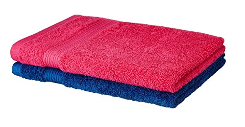 Solimo 100% Cotton 2 Piece Hand Towel Set, 500 GSM...