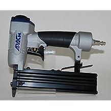 Clavadora Neumática Combi APACH PT 630 C para Agujas con y sin cabeza 0,6 mm hasta 30 de Largo + 1.500 Puntas - Especial Tapetas - Muy Profesional