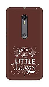 AMEZ enjoy the little things 2 Back Cover For Motorola Moto X Style