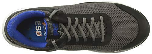 Timberland Pro Men s Drivetrain Composite Toe SD  Industrial Boot  Grey Blue Mesh  8 W US