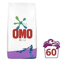 Omo Color Renkliler için Toz Çamaşır Deterjanı, 9 kg, 60 Yıkama, 1 Paket (1 x 9000 g)