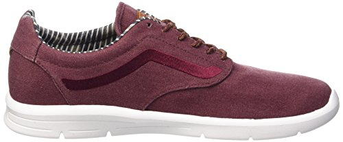 Vans Iso 1.5 Plus - Chaussures De Sport Basses Unisexes - Rouge Adulte (ciré / Port / Royale / Blanc)