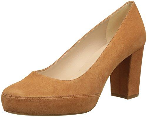 Unisa Numar_18_KS, Zapatos de Tacón para Mujer, Marrón Cuero, 39 EU