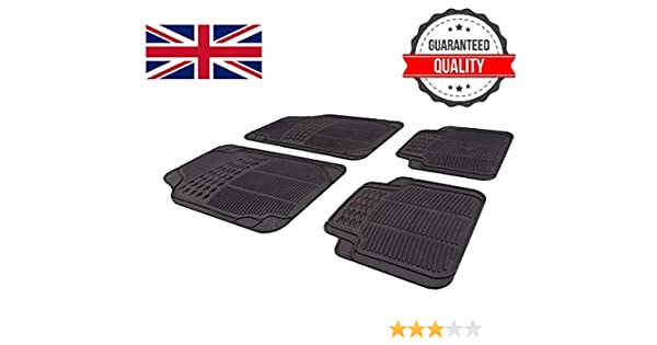 FSW I30 2012-2017 Tailored 3MM Waterproof Rubber Heavy Duty Car Floor Mats