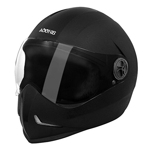 Steelbird Adonis Classic Full Face Helmet (Black, L)  available at amazon for Rs.849