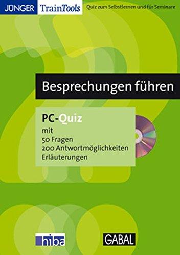 Besprechungen führen - PC-Quiz