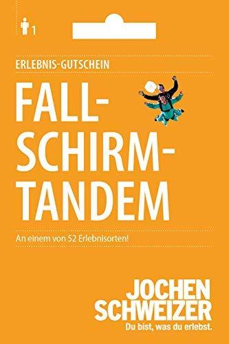 Jochen Schweizer Erlebnis-Gutschein \'Fallschirm-Tandem Sprung\', mehr als 70 Veranstaltungsorte, Geschenkidee zu Weihnachten