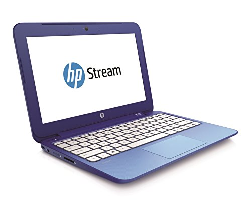 HP Stream 11.6-Inch Laptop (Intel Celeron 2.16 GHz, 2 GB RAM, 32 GB Memory, Windows 8.1) with Free Windows 10 Upgrade image