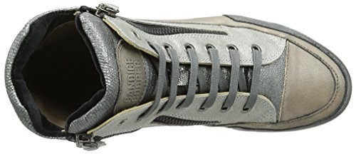 Candice Cooper Lion Zip, Sneakers basses femme Silber (Argento)