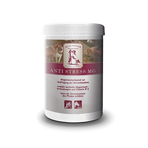 Mühldorfer, Ergänzungsfutter für Pferde, Kräftigung des Nervenkostüms, Anti Streß Mg, 0,75 kg