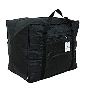 Kuber Industries Jumbo Soft Parachute Material Storage Bag
