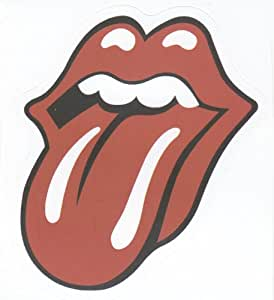 Rolling Stones Original Tongue Lips Sticker for Skateboards, Snowboards, Scooters, Laptops, iPhone, iPod, Guitars etc