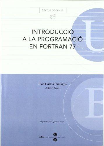 Introducció a la programació en Fortran 77