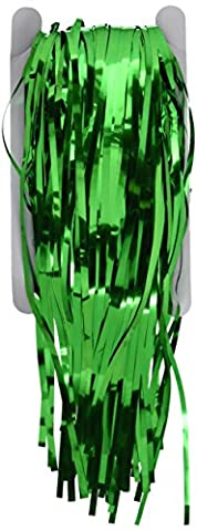 1 X 3' x 8' Green Tinsel Foil Fringe Door Window Curtain Party Decoration by Rhode Island Novelty