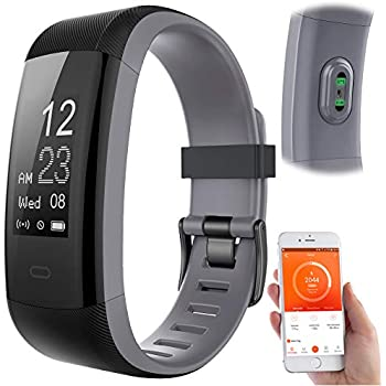 newgen medicals Fitness-Tracker mit GPS: Premium-GPS