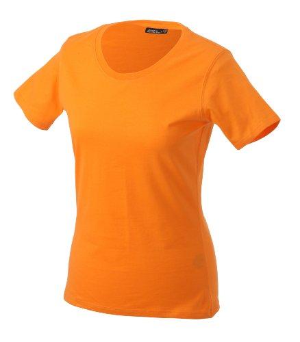 James & Nicholson Damen T-Shirt Orange